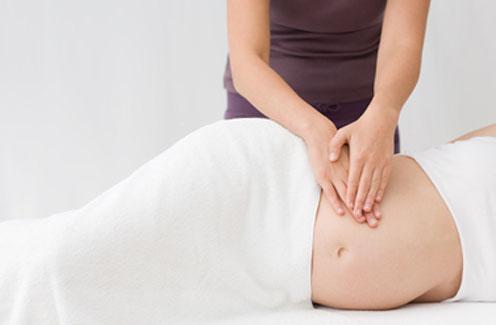 Массаж для поясницы беременным