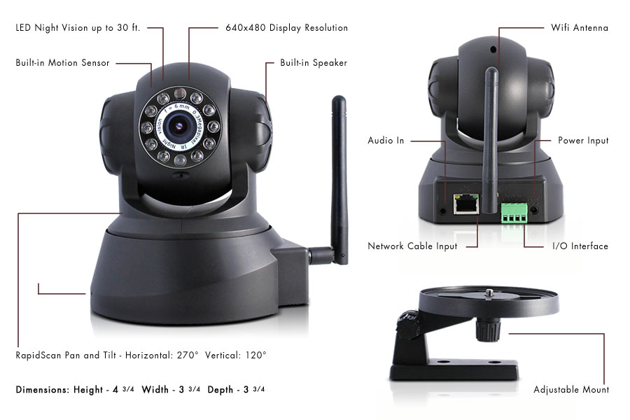 Wireless IP Security Camera for $79 Deal DZT Fitness - Coupon 2015
